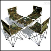 Wholesale Fashion beach chair Durable Outdoor Sports for outdoor furniture Folding furniture Tables Chairs Set