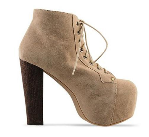 Where to Buy Chunky Heel Ankle Winter Online? Where Can I Buy ...