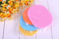 Wholesale Facial Wash cleaning puff Makeup Compressed Seaweed Sponge Cosmetic sponge