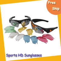 CMOS 5.0MP 170 degree wide-angle 2GB -32GB 720P HD Spy Sunglasses Sport Glasses Hidden Camera Camcorder Mini DV DVR 170 Wide Angel Eyewear DV90