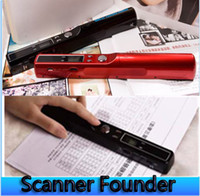 Wholesale Handheld Scanner Portable Scanner A4 Photoelectric Sensor dpi Resolution