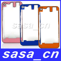 Wholesale Back Clear Housing Glass Back Cover Assembly For iPhone S GS Battery Door With camera lens