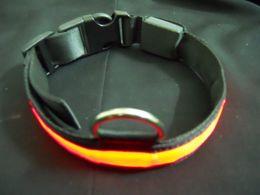 30pcs lots Pet Supplies Pet collars High Visibility Flashing LED Light Pet Dog Cat Safety Collar Tag