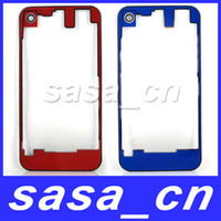 Wholesale Clear Transparent Glass Replacement Back Cover Housing With Camera lens For iPhone S GS