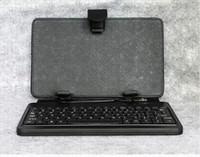 Wholesale 10Ps inch Black usb keyboard leather case with bracket for inch tablet netbook pc apad epad
