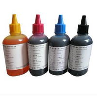 Wholesale 100ML refill ink Dye Ink for HP universal Color Dye Ink for HP Premium Dye Ink