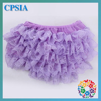 Wholesale lace infant and toddler bloomers cheap clothing diaper covers