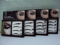 Wholesale 2012 gaga lady Vintage Eye liner Sticker Shadow Sticker Smoky Eyes Sticker jkhhi