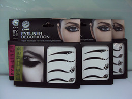 Wholesale 2012 gaga lady Vintage Eye liner Sticker Shadow Sticker Smoky Eyes Sticker kjhuiv