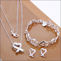 best kelp - Best selling silver jewelry sets necklaces bracelets earrings mix kelp set