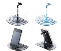 Wholesale NEW hot Novelty Water Faucet Holder Stand Holder for cell phone