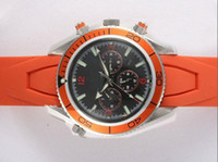 bands online - mens brand automatic watches online planet ocean sports watches orange rubber band mens luxury watches