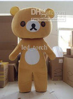 Wholesale Rilakkuma Mascot Costumes Adult Size high quality Halloween Party fanny dress