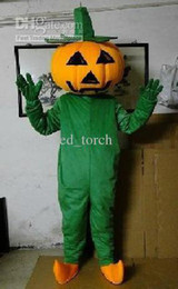 Wholesale Halloween Pumpkin Mascot costumes Halloween Fancy dress Cartoon costumes