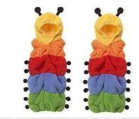 Wholesale 30pcs Caterpillar Sleepwear toddler sleeping bag sack sleep suit Fleece cotton Baby Sleeping bags