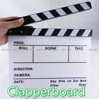 Wholesale Clapperboard Clapper Board TV Film Movie Slate NEW