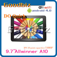 Wholesale promotion new comming inch do quick dc android GB GB tablet pc2pcs
