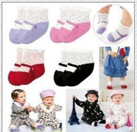 Wholesale Baby cotton socksMixed newborn relent socks white and black children socks pairs