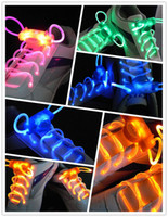 Hotel Shoelaces  LED flashing sholelace, outdoor activities sports shoes special shoelaces 500pairs lot