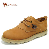 Wholesale camel mens yellow shoes brand casual shoes hot sale