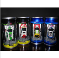 Wholesale MiNi Rc Racing Racing Roy Coke cans fitted model remote control car