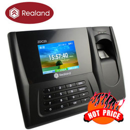 Wholesale Fingerprint Time Attendance Recorder Clock ZDC201T TCP IP BEST VALUE Economy