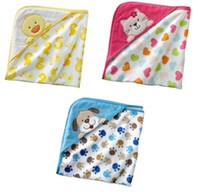 Towels baby bathrobe - Terry Bathrobe baby hold blanket bathing towels bathrobe towel wash robes towels