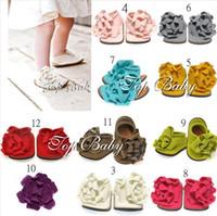 Wholesale Cute Blue Christmas Shoes - 3PCS TOP BABY foot flower shoes,Cute baby toddler shoes,Baby supply,children's shoes,Christmas gift