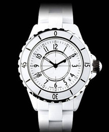Luxury Swiss Brand fashion style womens dive watch white ceramic luxury lady watches japan quartz movement CH107