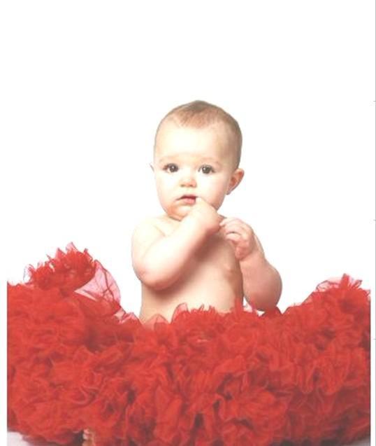 New baby girl ruffle lace tutu skirt dress clothes set infant wear