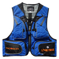 Wholesale New Outdoor Ventilation Sports Multiple pockets photography vest fishing clothing vest