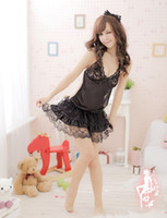 Cami Sets beauty supply outlet - Factory outlets Sexy Skirt Low supply Sexy lingerie Lingeries Black lace Princess Dress Back lace underwear Sexy beauty