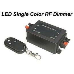 DC 12V 24V DC RF Single Color LED Dimmer to control single color 3528 5050 5630 LED strip light
