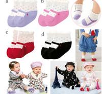 Wholesale Baby Anti skid Infant Socks Cute Dot Socks New Baby Socks Pairs asdy