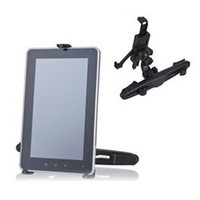 Wholesale Adjustable Car Mount Holder Pillow Headrest Stand Bracket for inch Tablet PC iPad2 iPad3S