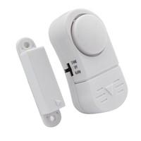 Compra Sensor-2016 Nuevo Mini Wireless <b>Sensor</b> magnético de puerta ventana de entrada de seguridad ladrón de la seguridad de la alarma del clásico de alarma de seguridad antirrobos blanco Campana