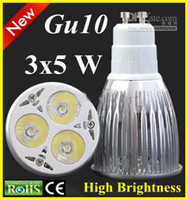 5X Hot selling Dimmable GU10 3X5W 15W LED Lamp spotlight dow...
