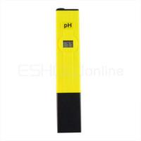 Wholesale New Digital Pocket Pen Type PH Meter Aquarium Pool Water Tester Y1046Y