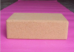Wholesale New High Density of Natural Environmental Protection Cork Yoga Block quot quot quot