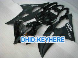 YNL169 black Fairing kit for YAMAHA YZF R6 2008 2009 2010 YZF600 YZFR6 08 09 10 racing fairings