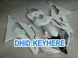 All pearl White ABS racing Fairing kit for YAMAHA YZF-R6 2008 2009 2010 YZF R6 08-10 YZFR6 08 09 10