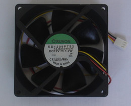 Wholesale SUNON KD1209PTS2 V W wire Conputer case fan server fan cpu cooler fan Cooling Fan