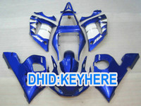 YNL195 factory blue racing Fairing for YAMAHA YZF- R6 1998- 20...