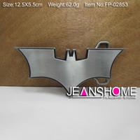 Alloy bat belt buckle - Metal bat belt buckle animal belt buckle with pewter plating FP