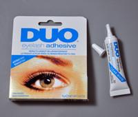 black eyelash glue - Hot makeup DUO Water Proof Eyelash Adhesive glue quot White Black quot free gift
