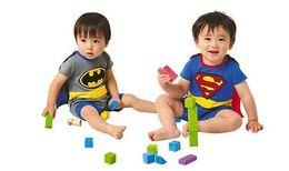 Superman batman rompers Baby infants romper - Baby jumpsuits Baby One-Piece rompers baby onesies.8p