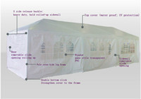 Wholesale 3m x m Party Tent Wedding Marquee Gazebo Canopy Walls