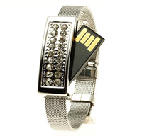 USB 2.0 bracelet usb flash drive - Genuine gb bracelet usb flash drive pen drive usb flash memory flash drives