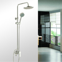 Wholesale Surface mounted shower suite next mounted shower faucet solar mixing valve the Copperbelt lift showe