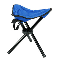 Wholesale Outdoor Camping Fishing Picnic Portable Stool Folding Chair New